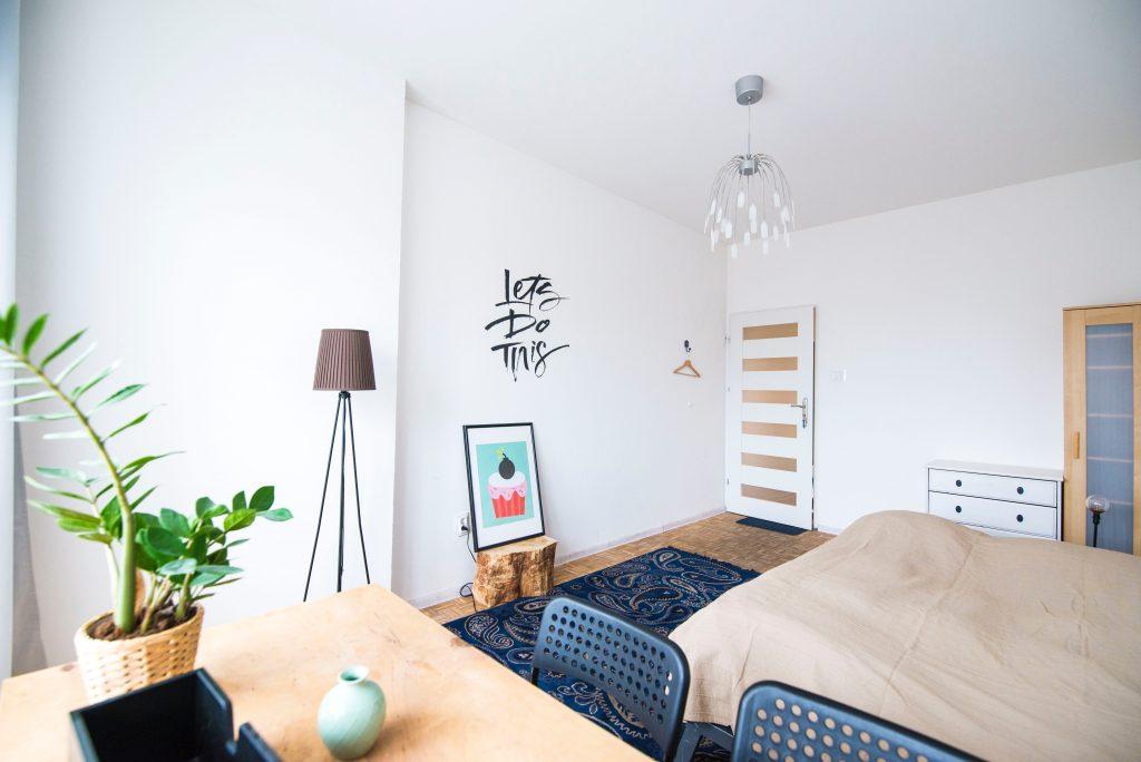 Déco minimalsite chambre