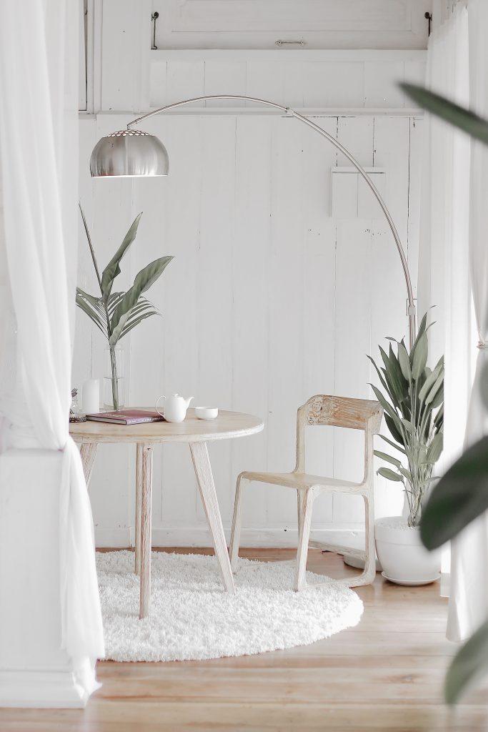 Salon déco minimaliste